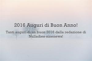 Auguri Buon Anno 2016